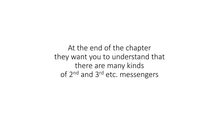 At the end of the chapter