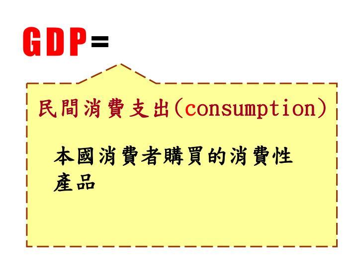 民間消費支出