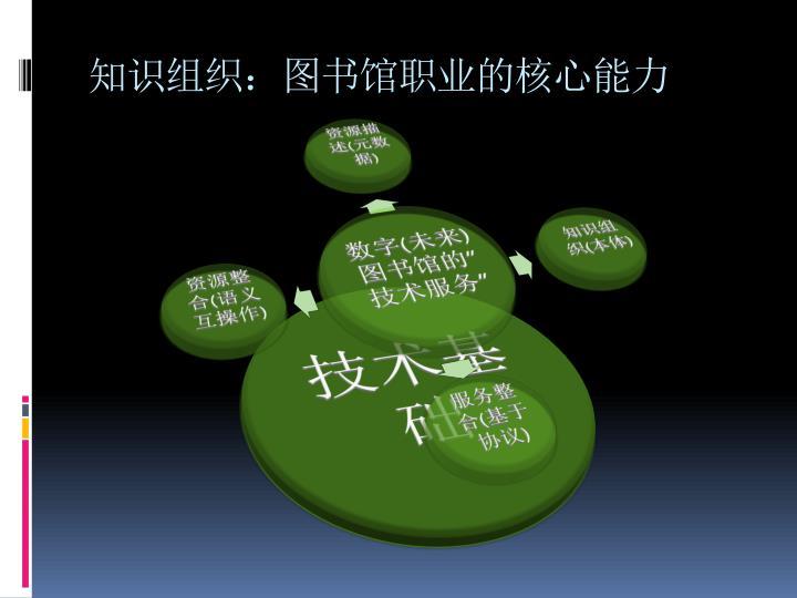 知识组织:图书馆职业的核心能力