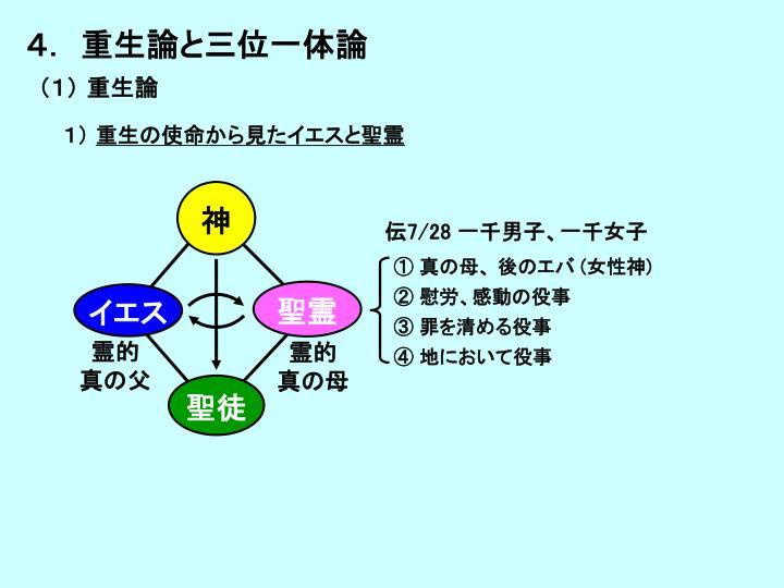 4. 重生論と