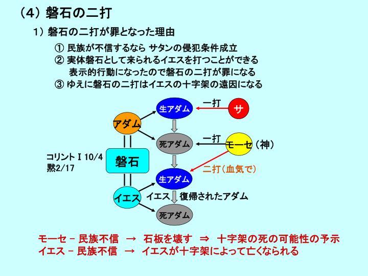 (4) 磐石の二打