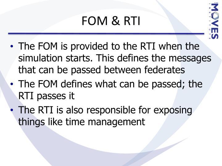 FOM & RTI