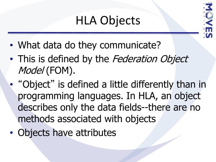 HLA Objects