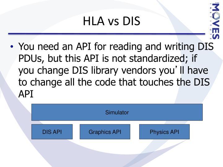 HLA vs DIS