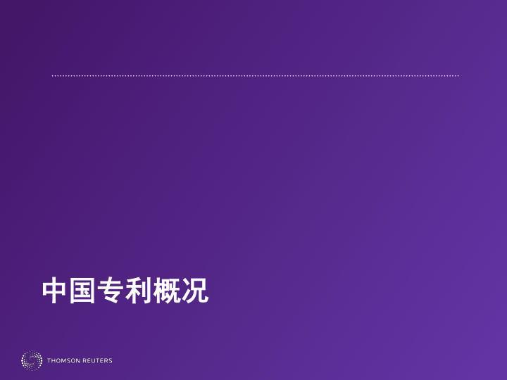 中国专利概况