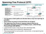 spanning tree protocol stp1