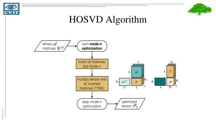 HOSVD Algorithm