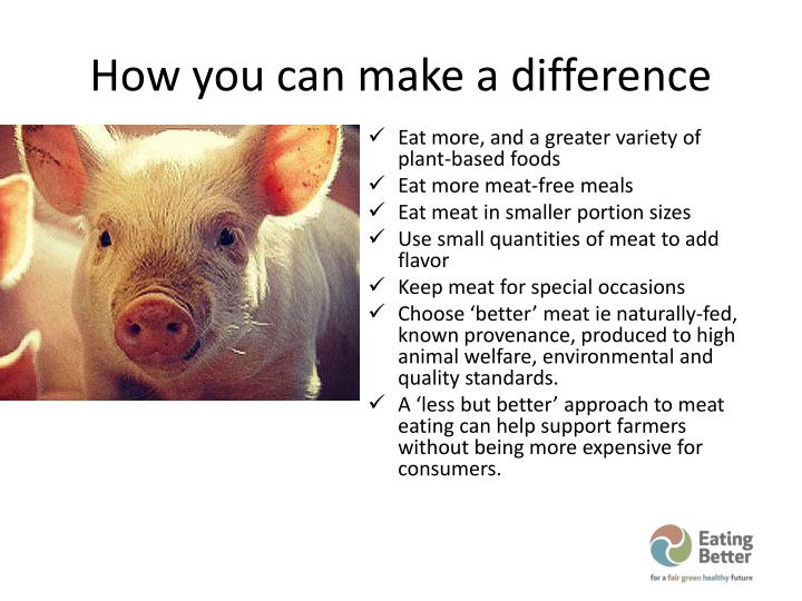 How you can make a difference