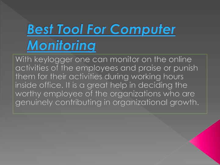 Best Tool For Computer Monitoring