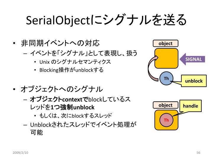 SerialObject