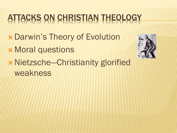 Attacks on christian theology