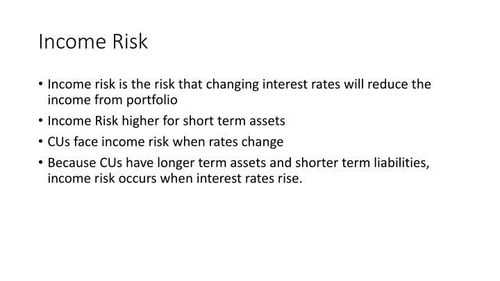 Income Risk