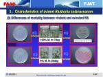 3 characteristics of avirent ralstonia solanacearum4
