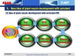 5 new idea of plant vaccin development with avirulent