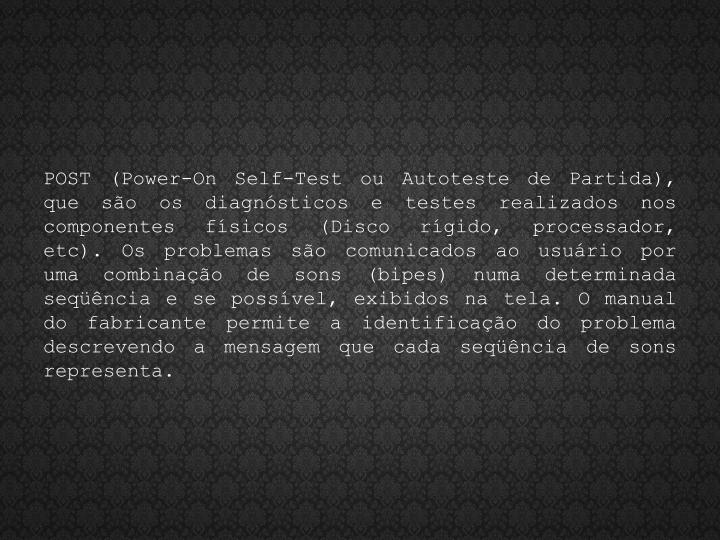 POST (Power-
