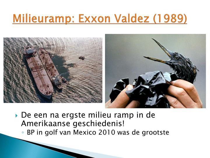 Milieuramp: Exxon