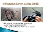 milieuramp exxon valdez 1989