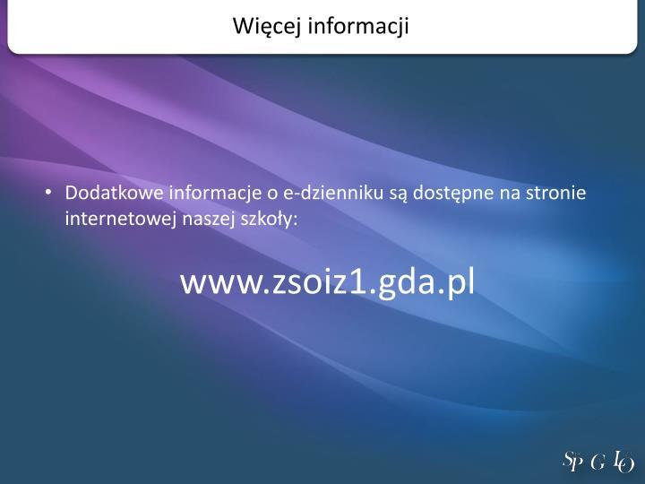 Więcej informacji