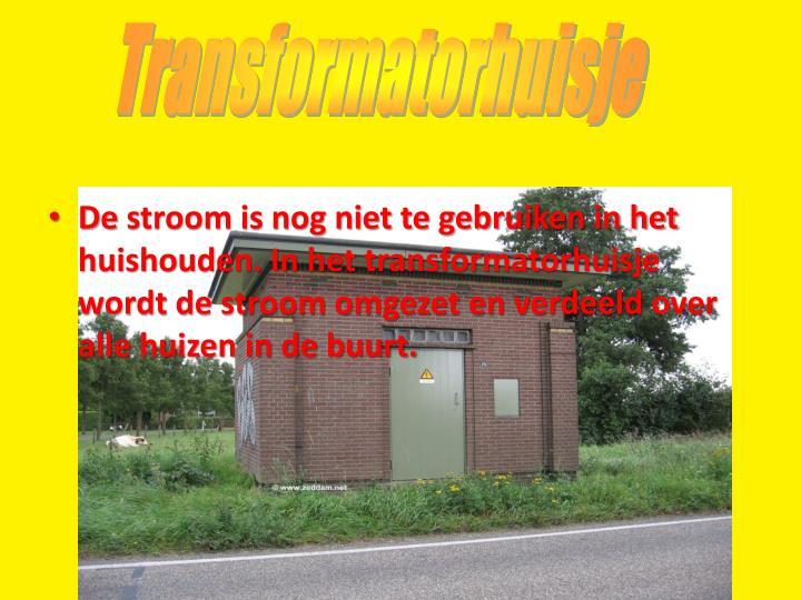 Transformatorhuisje