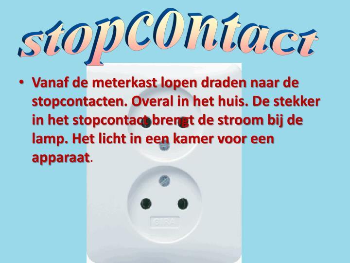 stopcontact