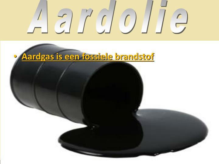 Aardolie