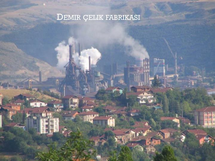Demir çelik fabrikası