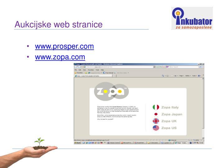 Aukcijske web stranice