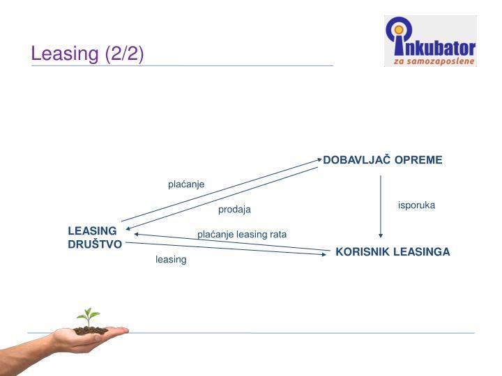 Leasing (2/2)