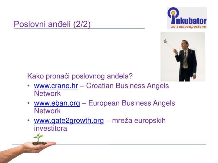 Kako pronaći poslovnog anđela?