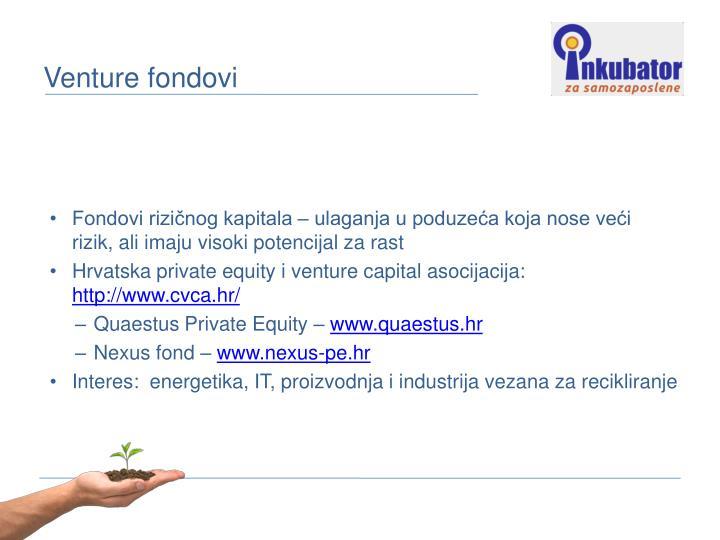 Venture fondovi