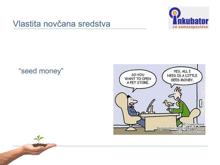 Vlastita novčana sredstva
