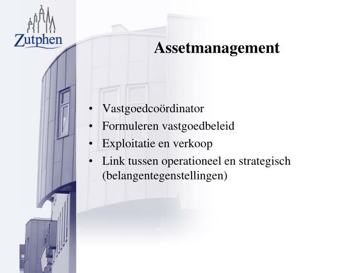 Assetmanagement