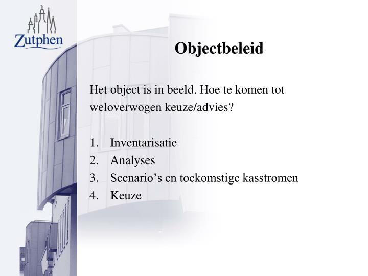 Objectbeleid