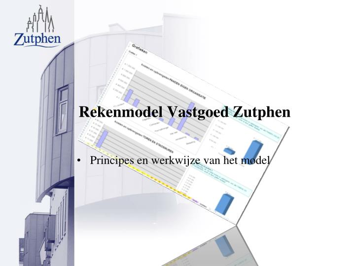 Rekenmodel Vastgoed Zutphen