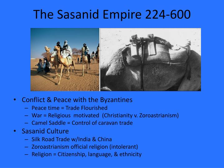 The sasanid empire 224 600