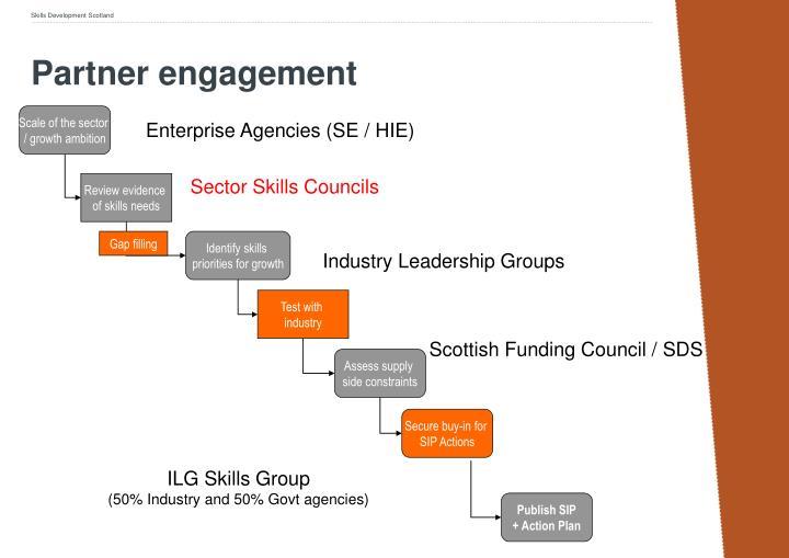 Partner engagement