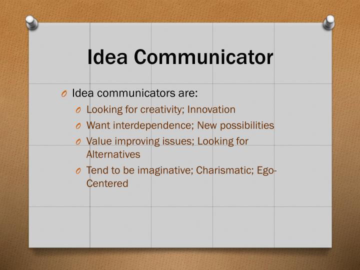 Idea Communicator