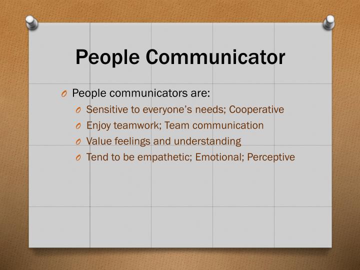 People Communicator