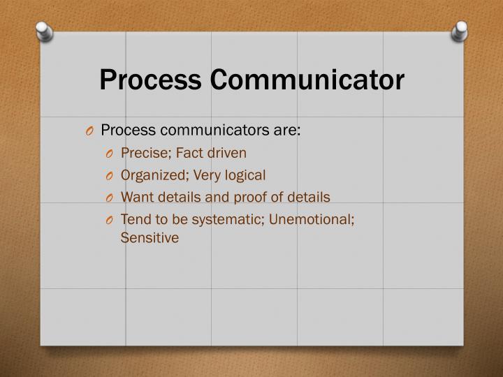 Process Communicator