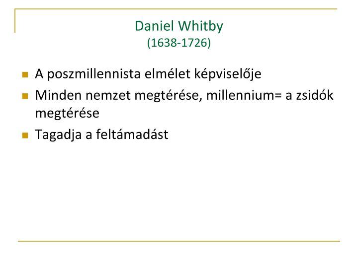Daniel Whitby