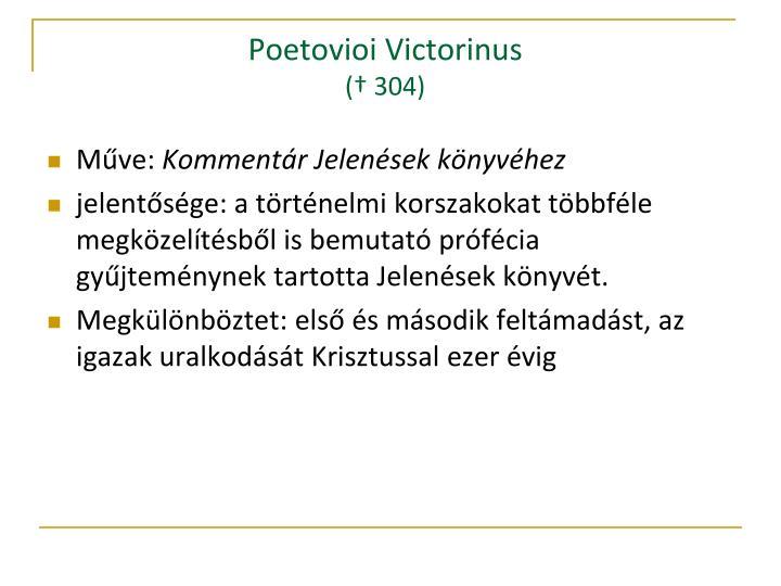 Poetovioi Victorinus