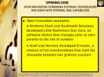 open innovation combining external technologies and ideas with internal r d capabilities4