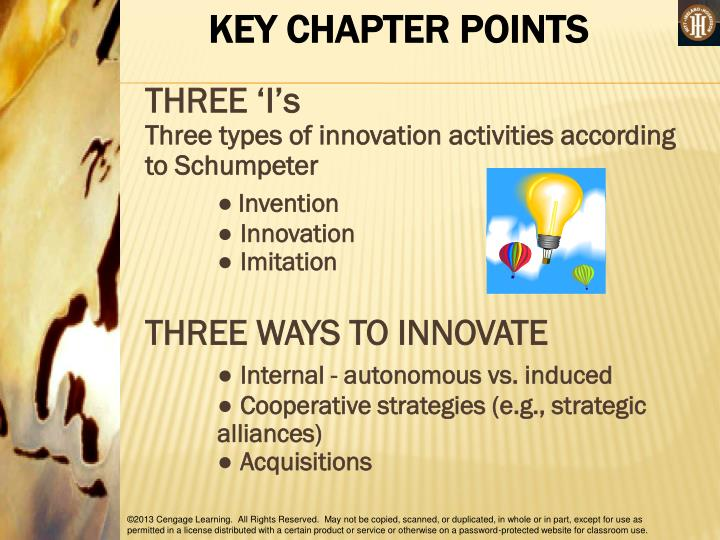 KEY CHAPTER POINTS