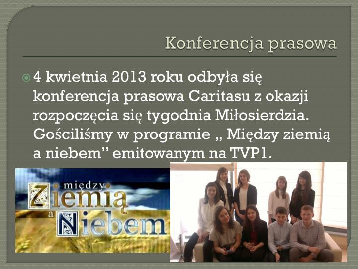 Konferencja prasowa