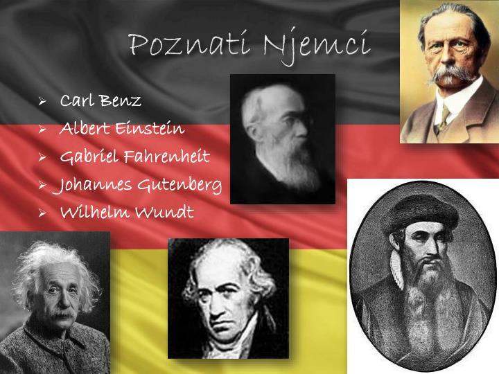 Poznati Njemci