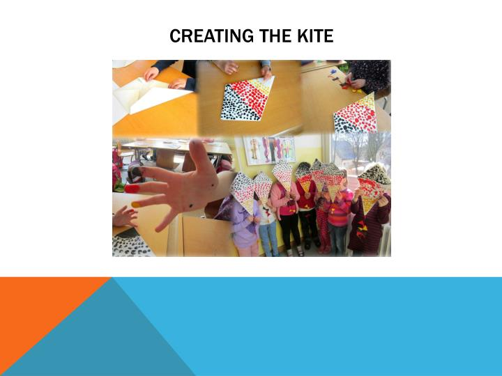 Creating the kite