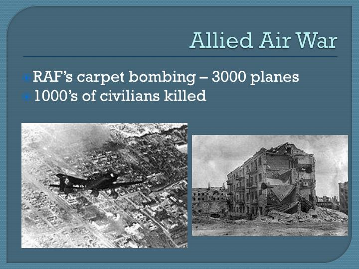 Allied Air War