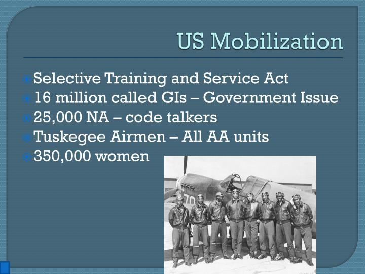 US Mobilization