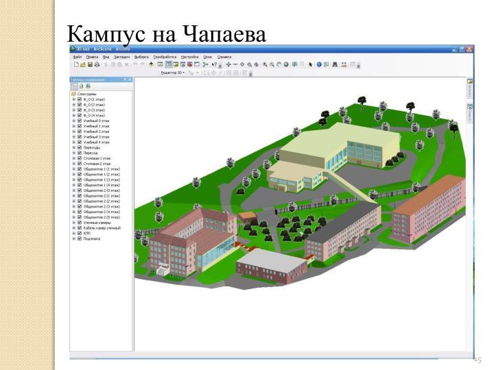 Кампус на Чапаева