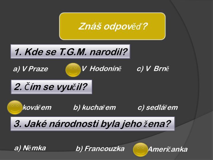 Znáš odpověď?